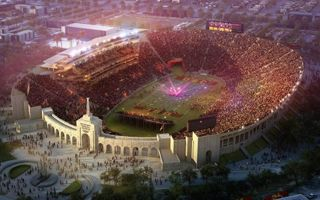 New design: LA Coliseum (not much) redefined