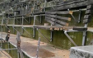 Helsinki: Fans dismantled legendary Olympiastadion benches