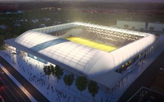 Budapest: Cornerstone mounted at MTK future stadium