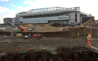 New construction: Tottenham goes forward with stadium