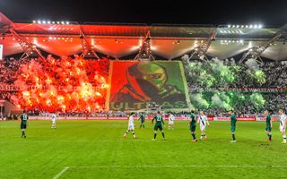Warsaw: Stunning show by Legia fans