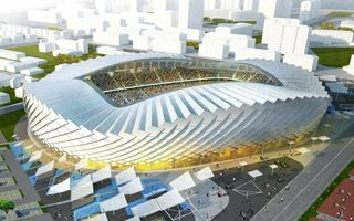 New design: The dancing stadium of Batumi