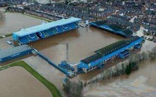 England: Carlisle stadium flooded again
