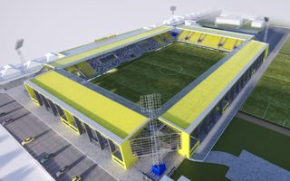 New design: Slovakia's third largest stadium presented