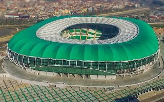 New stadium: Controversial opening of Crocodile Arena