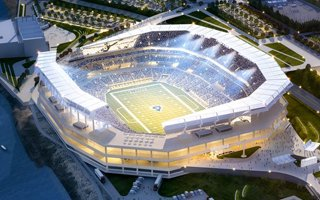 St. Louis: Formal stadium bid filed to the NFL