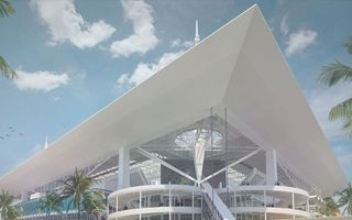 Miami: 14,000-ton roof to grow by August