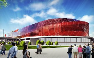 New design: First Euro 2020 stadium in Bucharest