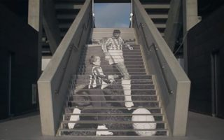Warsaw: Legia begin centenary with stadium decorations
