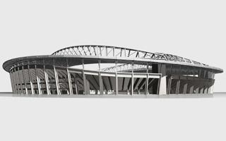 New design: The grand football stadium of Alger