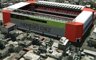 Mexico: Toluca show stadium mockup as construction goes on