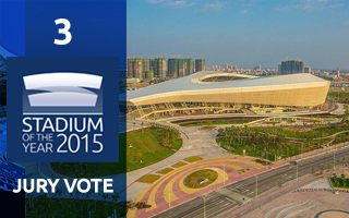 2015 Jury Vote: 3rd Place – Zhanjiang Olympic Center Stadium