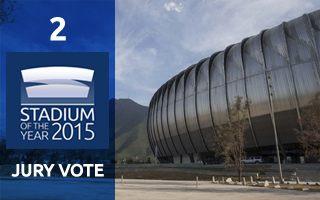 2015 Jury Vote: 2nd Place – Estadio BBVA Bancomer