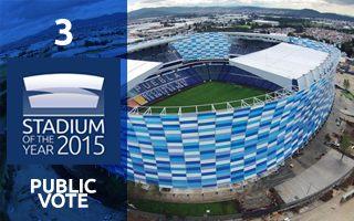2015 Public Vote: 3rd Place - Estadio Cuauhtémoc