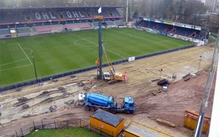 Belgium: New main stand in Leuven rising