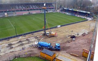 Belgium: New main stand in Leuven rising