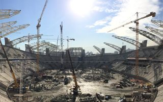 Turkmenistan: Horse-stadium on track for 2016 completion