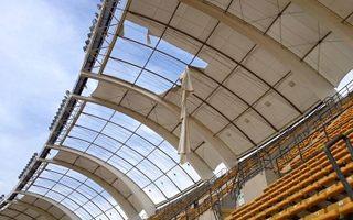 Italy: Bari stadium tearing apart