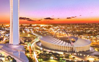 South Africa: Skyscraper to dwarf Moses Mabhida Stadium?