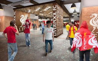 Liverpool: The Reds show industrial concourses