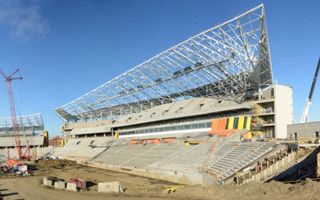 Canada: Mosaic Stadium already almost 80% complete