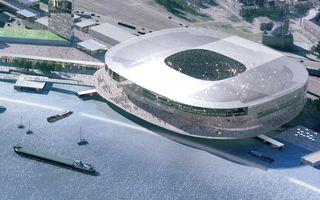 Rotterdam: Feyenoord chose riverside stadium site