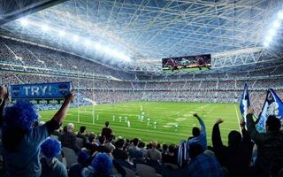 New design: Sydney Olympic stadium not so Olympic