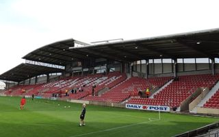 Wales: Supporters take over at the Racecourse