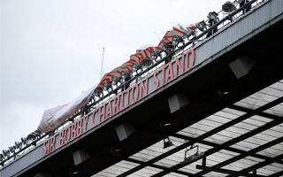 Manchester: Sir Bobby got his stand at Old Trafford