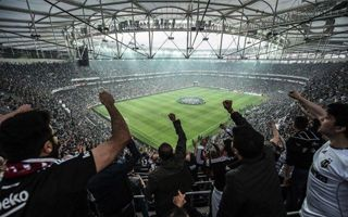 New stadium: Vodafone Arena opened in style