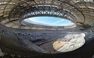 Moscow: Luzhniki structurally complete