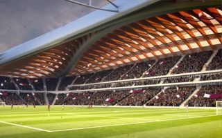 Qatar 2022: Hadid's only stadium to begin growing