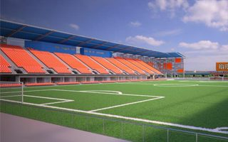 Texas: Rio Grande Valley stadium two months late