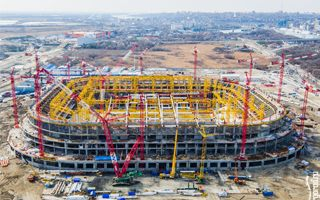 Russia 2018: Great progress in Rostov, stadium growing rapidly