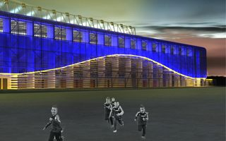 New design: Another Slovak stadium starts today