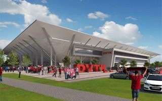 Hungary: Another stadium in express mode, now for Miskolc