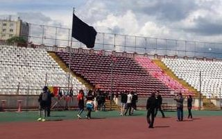 Romania: Stadium turned into shrine after death of Patrick Ekeng