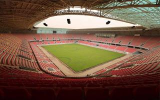 "New stadium: They call it the ""Euphratus Jewel"""