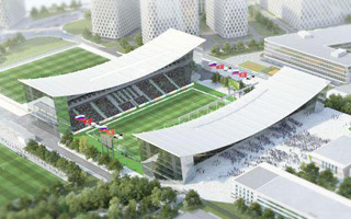 New design: Moscow's Torpedo to get a (really!) shiny new stadium