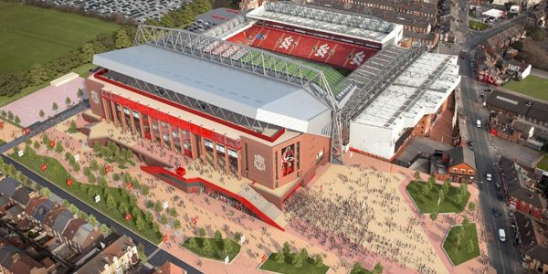 Liverpool: New main stand in 3 months