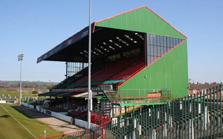 Belfast: Glentoran will have a new stadium