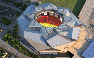 Atlanta: Mercedes-Benz Stadium ready in a year