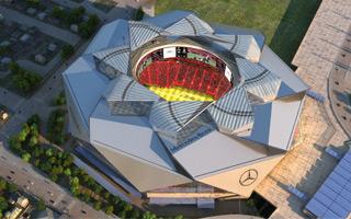 Atlanta: Mercedes-Benz Stadium ready in a year
