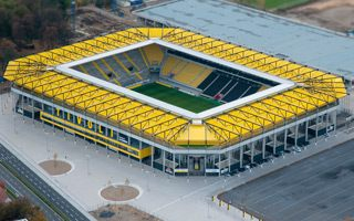 Germany: Modern stadium with almost 400 flaws