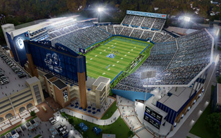 New design: ODU reveals its new stadium