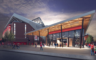 Liverpool: Changes around Anfield expansion