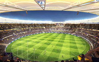 Perth: Operator selected, stadium reaches 40%