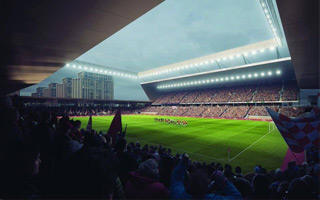 England: Luton Town submit planning application