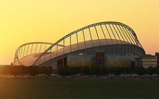 Qatar 2022: Khalifa Stadium reaches height of 120 meters!