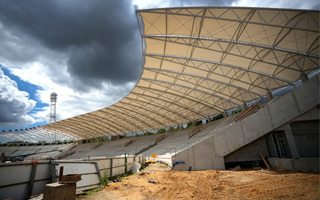 New construction: 2017 World Games host stadium growing